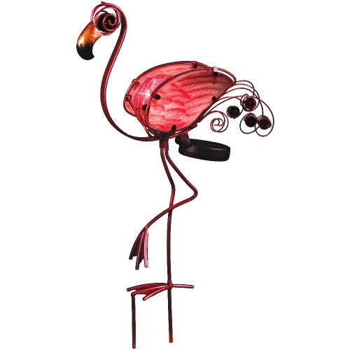 Solar-Light-Flamingo-Garden-Stake-Outdoor-Decor-2pack