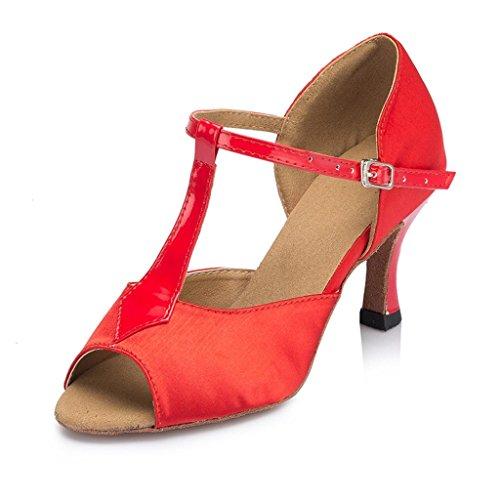 Monie de Monie Red femme Salle Salle bal gffqFxP