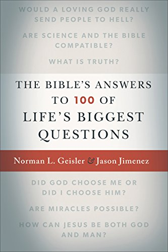 The Bible's Answers to 100 of Life's Biggest Questions cover