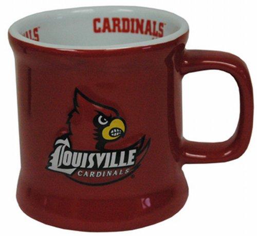 - NCAA Louisville Cardinals Mug Ceramic Relief