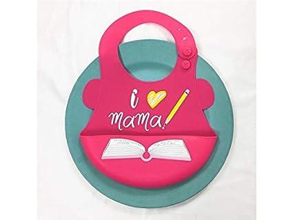 Delantal para niños pequeños Toalla babero babero babero impermeable para bebés y niños pequeños (bebé