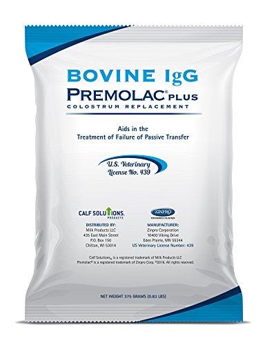 Premolac Bovine IgG Plus Colostrum Replacer