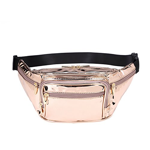 35f812f0fc1d Hearty Trendy Fashion Signature Series Faux Leather 6 Pockets Fanny ...