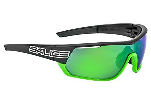 Salice 016rwp Fahrrad Brille, Farbe Einheitsgröße Weiß/Gelb