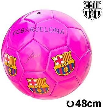 Balón de Fútbol Mediano Rosa F.C. Barcelona: Amazon.es: Juguetes y ...