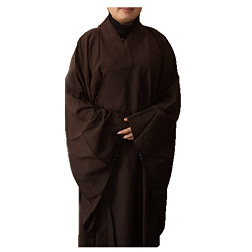 [Shaolin Robe - Unleash the Kung Fu Master Inside You - Comes in Orange, Black, and Brown - Very Cool and Reasonable] (Monks Costumes)
