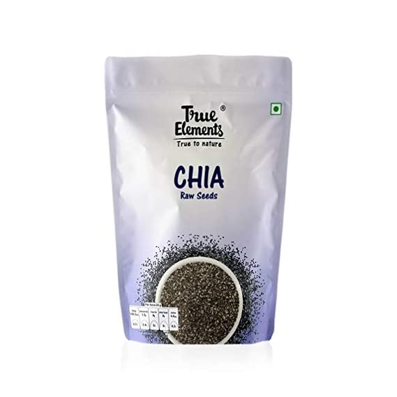True Elements Raw Chia Seeds 150gm - Calcium Rich Seeds
