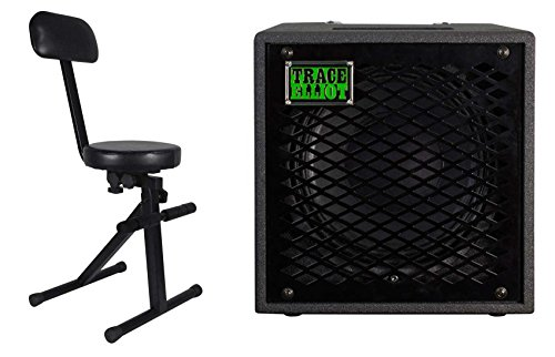 Trace Elliot ELF 1x10 300 Watt RMS 10'' Bass Guitar Speaker Cabinet+Padded Throne by Trace Elliot