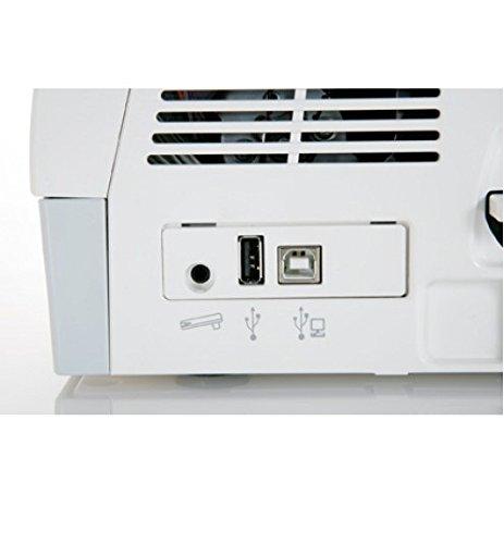 Alfa MC 11000 - Máquina de Coser y Bordar (307 Puntadas, 122 diseños de Bordado, 13 alfabetos, Pantalla táctil), Color Blanco: Amazon.es: Hogar
