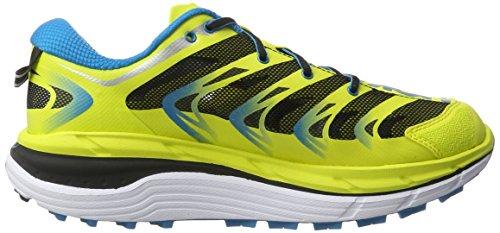 Hoka One Speedgoat, Zapatillas de Running para Asfalto para Hombre Amarillo (Citrus/blue)