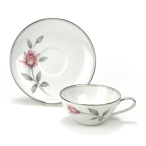 - Rosemarie by Noritake, China Cup & Saucer