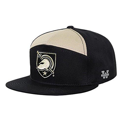 c694455d United States Military Academy USMA Army Black Nights NCAA 7 Panel Flat  Bill Snapback Baseball Cap Hat. by bhfc