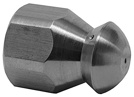 Hot Max 29026 1//4-Inch FNPT x Size 4.5 Sewer Nozzle 5,075 PSI Rated