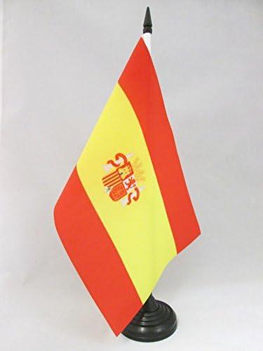 AZ FLAG Bandera de Mesa de la Primera REPÚBLICA DE ESPAÑA 1873-1874 21x14cm - BANDERINA de DESPACHO ESPAÑOLA Antigua 14 x 21 cm: Amazon.es: Hogar