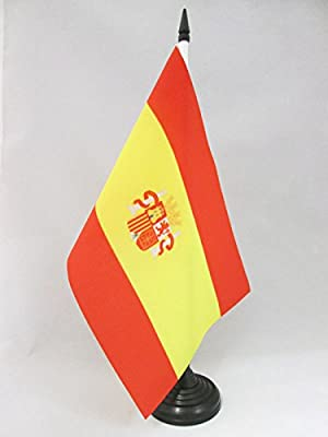 AZ FLAG Bandera de Mesa de la Primera REPÚBLICA DE ESPAÑA 1873 ...