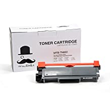 Moustache ® Brother TN-660 TN660 tn660 (High Yield of TN630 TN630) Premium Quality New Compatible Black BK Toner Cartridge (High Yield) For HL-L2320D,HL-L2360DW,DCP-L2520DW,DCP-L2540DW,HL-L2380DW L2700DW L2720DW L2740DW
