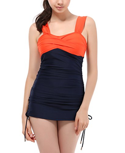 Womens Vintage Swimsuits Tankini Bathing