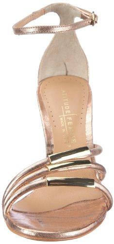 Latitude femme enrica 29010 Damen Sandalen/Fashion-Sandalen Rot (Copper)