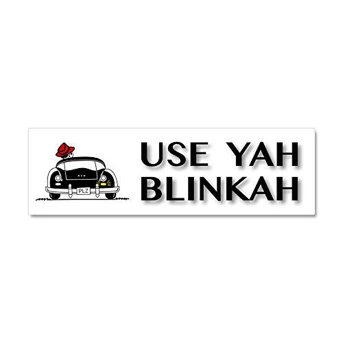 use yah blinkah