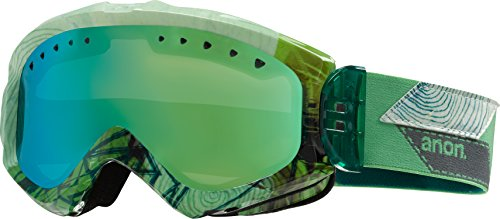 Majestic Lens - Anon Majestic Goggles Faultline/Green Solex Lens Womens