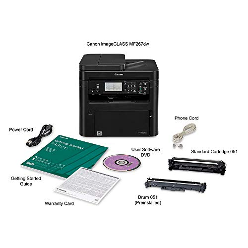 Canon imageCLASS MF267dw All-in-One Laser Printer, AirPrint, and  Wireless Connectivity by Canon (Image #6)