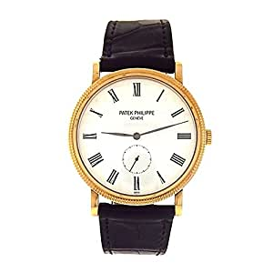 Patek Philippe Calatrava mechanical-hand-wind mens Watch 5119J-001 (Certified Pre-owned)