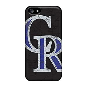 Iphone 5/5s Case Bumper pc Skin Cover For Colorado Rockies Accessories