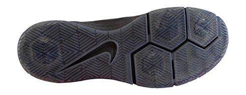 Nike Paul Rodriguez 9 Elite Flash, Zapatillas de Skateboarding para Hombre, Negro / Naranja (Black / Black-Lt Crimson), 42 EU