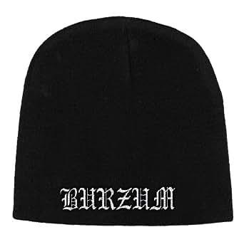 Burzum - Gorro de punto - para hombre Negro negro talla única