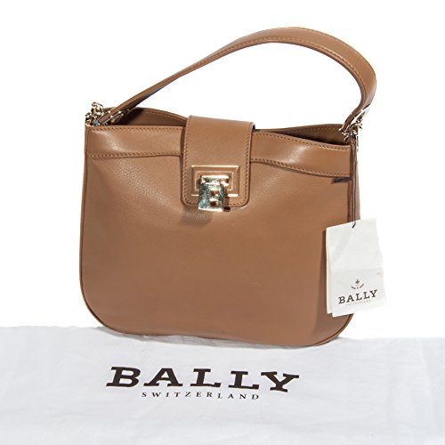 De Bally Mujer Marrón Para Bolso Asas Piel qSO016