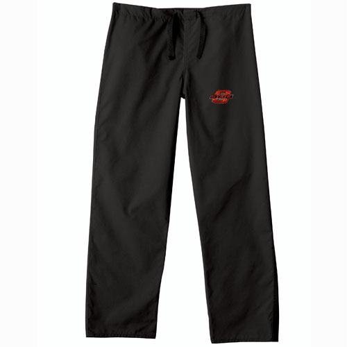 Oklahoma State Cowboys NCAA Classic Scrub Pant (Black) (3X Large) by Gelscrubs