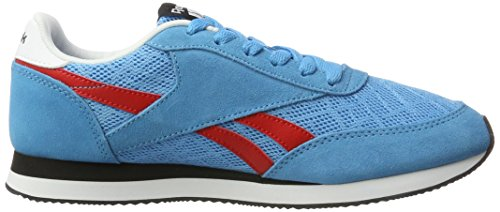 Reebok Royal Classic Jog 2tm, Zapatillas de Trail Running para Hombre Azul (Azul (Blue Beam /     Primal Red /     Black /     White)