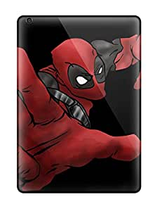 Best Tpu Case Skin Protector For Ipad Air Deadpool With Nice Appearance