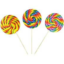 Original Gourmet Swirl Lollipops, Mixed Flavors, Paddle Pops, 48 Count