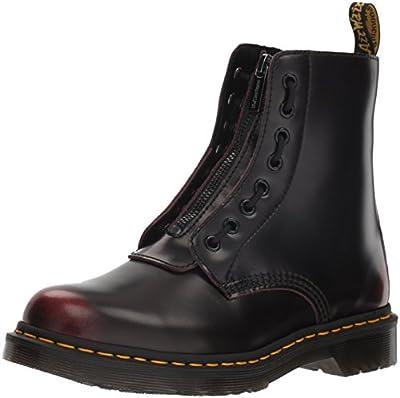 Dr. Martens Women's 1460 Pascal FRNT Zip Mid Calf Boot