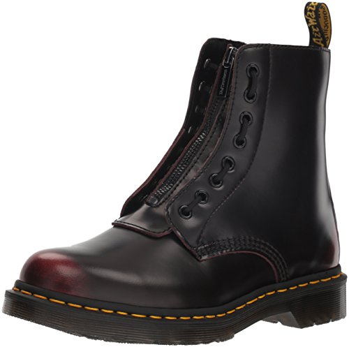 Pascal Cherry Martens Front Red Mujer Arcadia Zip 1460 Leather Dr Botas FzwtfPP
