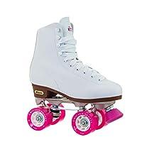 Patines clásicos para mujeres de Chicago - Patines de patinaje en blanco - Tamaño 7