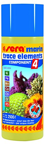 sera Marin Component 4 Trace Elements Kationics 250 Ml, 8.45 fl.oz Aquarium Treatments (Sera Marin Component)