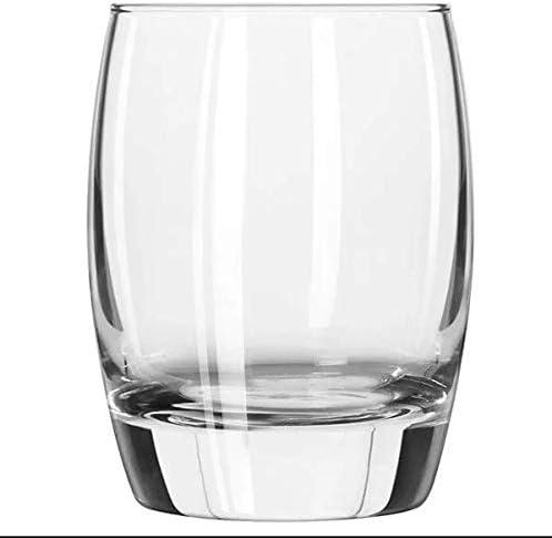Set of 6 w// FDL Party Picks Libbey Stemless 6 Ounce Wine Taster Mini Sample Glass 260