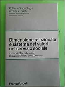 dei valori nel servizio sociale: 9788820467692: Amazon.com: Books