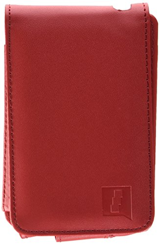 iGadgitz Red PU Leather Case Cover Holder for Apple iPod Classic 80GB, 120GB & Latest 6th Generation 160gb launched Sept 09 + Belt Clip & Screen -