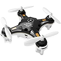 FunnyPro Mini 124 Pocket Drone 4CH 6Axis Gyro RC Micro Quadcopter with Switchable Controller(Black)
