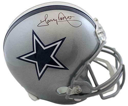 (Tony Dorsett Autographed Helmet - Replica 14873 - JSA Certified - Autographed NFL Helmets)