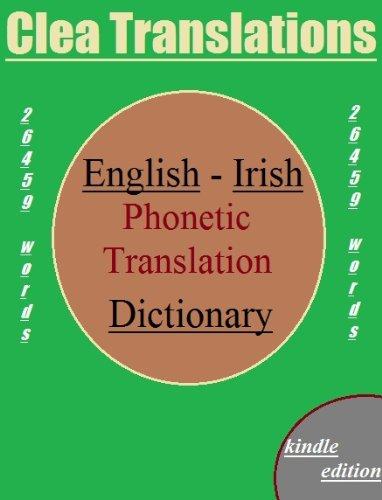 English To Irish Phonetic Dictionary