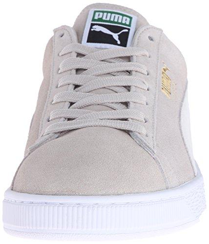 Puma Adulte Daim Classique Chaussure Avoine / Blanc
