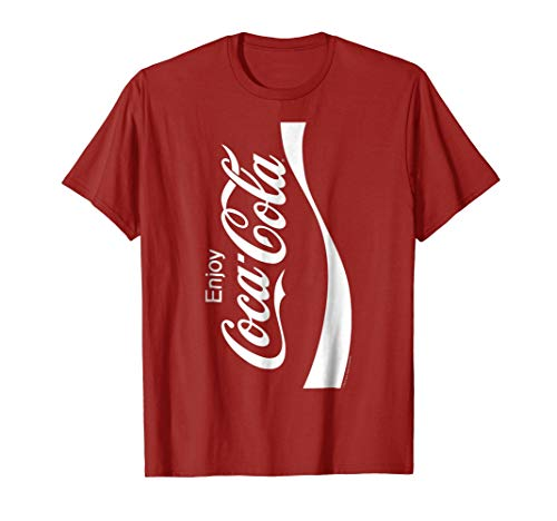 Coca-Cola Coke Can Vertical Logo Costume Graphic T-Shirt -