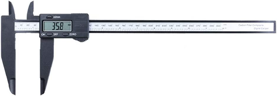 "12/"" Inch 300mm Electronic Digital Vernier Caliper Micrometer Large LCD Display"