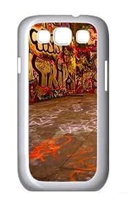 Samsung Galaxy S3 Case Cover - Graffiti Room Brand Design PC White Case for Samsung S3/I9300