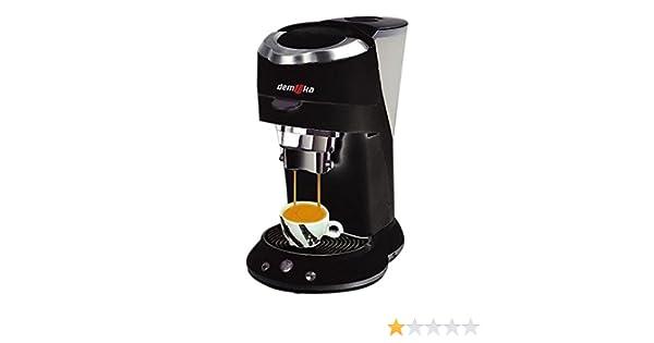 Demoka SPM-009 - Cafetera espresso, color negro: Amazon.es: Hogar