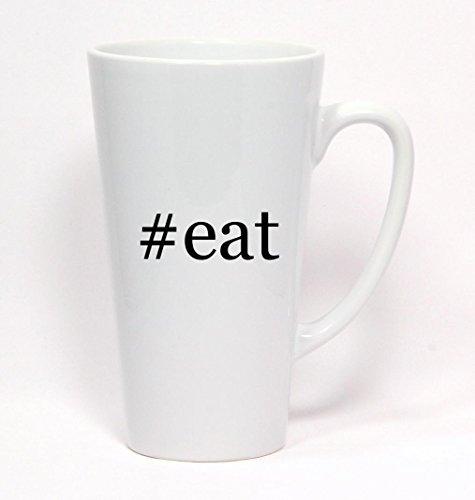 #eat - Hashtag Ceramic Latte Mug 17oz
